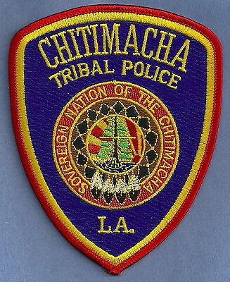 CHITIMACHA LOUISIANA TRIBAL POLICE PATCH