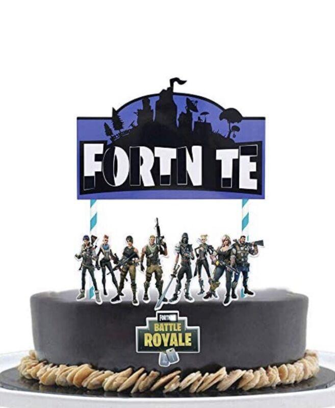 Fortnite Battle Royale Cake Topper