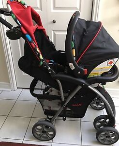 Excellent Condition Stroller (Rain Cover & Infant Seat)