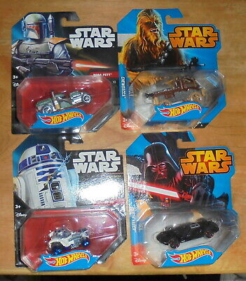 Mattel Hot Wheels Star Wars Blister Pack Cars Discount P&P for Multiple