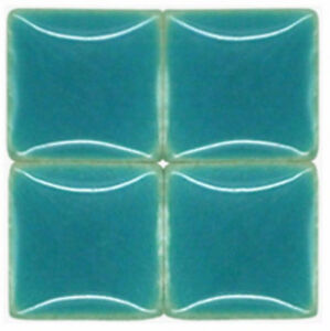 Mosaic Tiles - Ocean Blue - Ceramic - 3/8 inch - 50 Tiles - Art Supplies