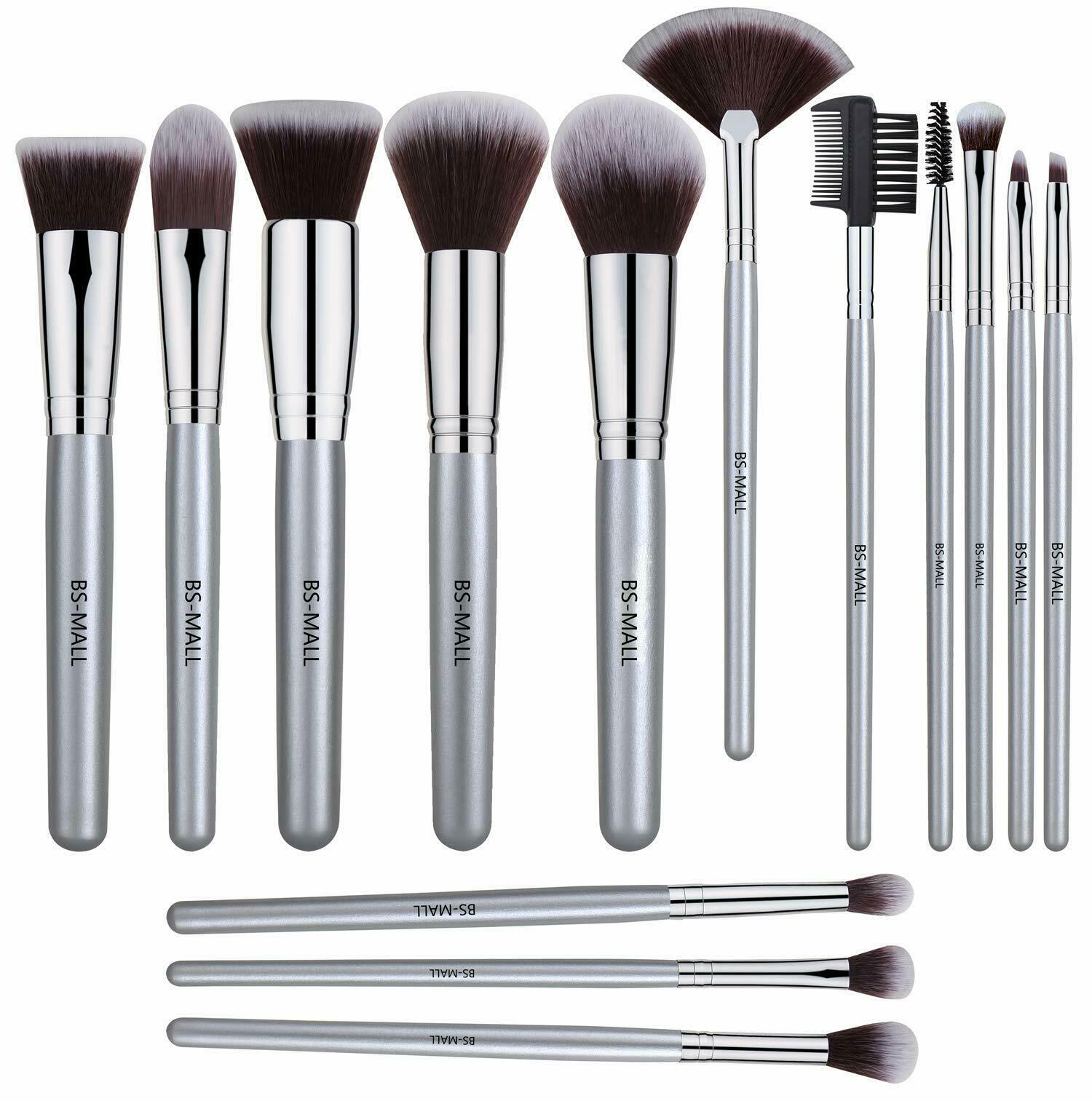 Morphe-style Professional Cosmetic Makeup Brush Set Eyeshado