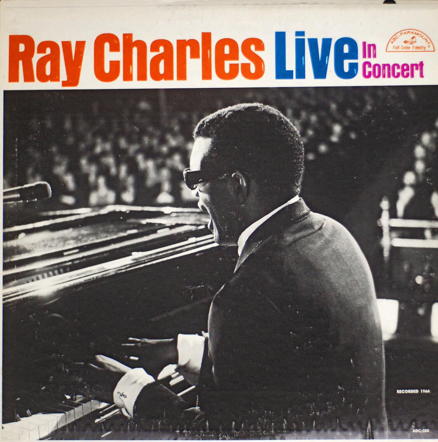 Ray Charles - Live In Concert EX/VG 07-1588 LP Vinyl - $15.00
