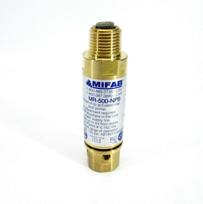 SIX IN BOX Mifab M1-500-NPB Trap seal primer