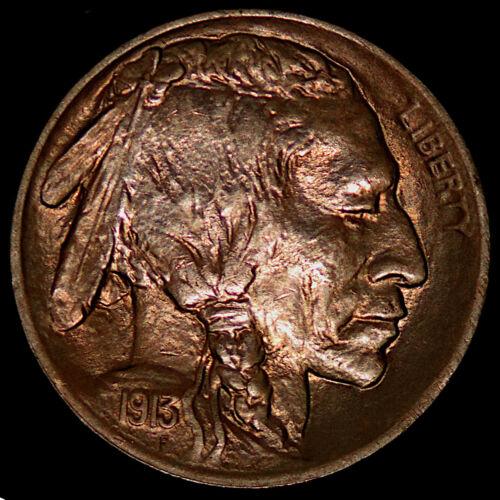 1913 TYPE 1 BUFFALO NICKEL!! BU UNCIRCULATED!!! BN-857-35