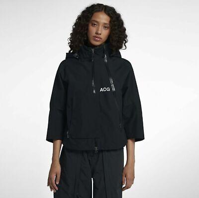 NWT Women's Nike NikeLab ACG GORE-TEX Jacket Black XS Small AJ0954 010