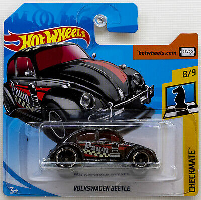 Hot Wheels Volkswagen Beetle Black FJX62 Checkmate 2018