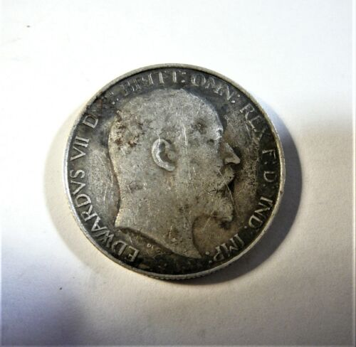GREAT BRITAIN 1902 SILVER FLORIN SB1