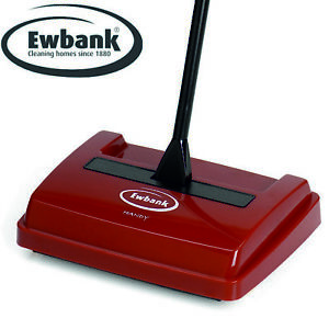 EWBANK CARPET SWEEPER Manual Speed Sweeper Lightweight Floor Cleaner Silent Hard