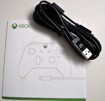 Genuine Microsoft Xbox One Official Micro USB Play & Charge Cable for Controller