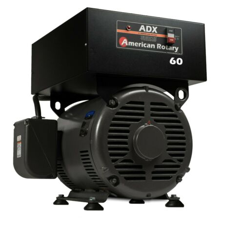 American Phase Converter ADX60F 60 HP Floor Digital Smart Series Extreme Duty
