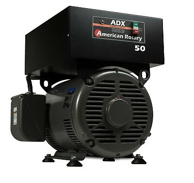 American Rotary Phase Converter Adx50f Floor Unit 50 Hp Digital Smart Series