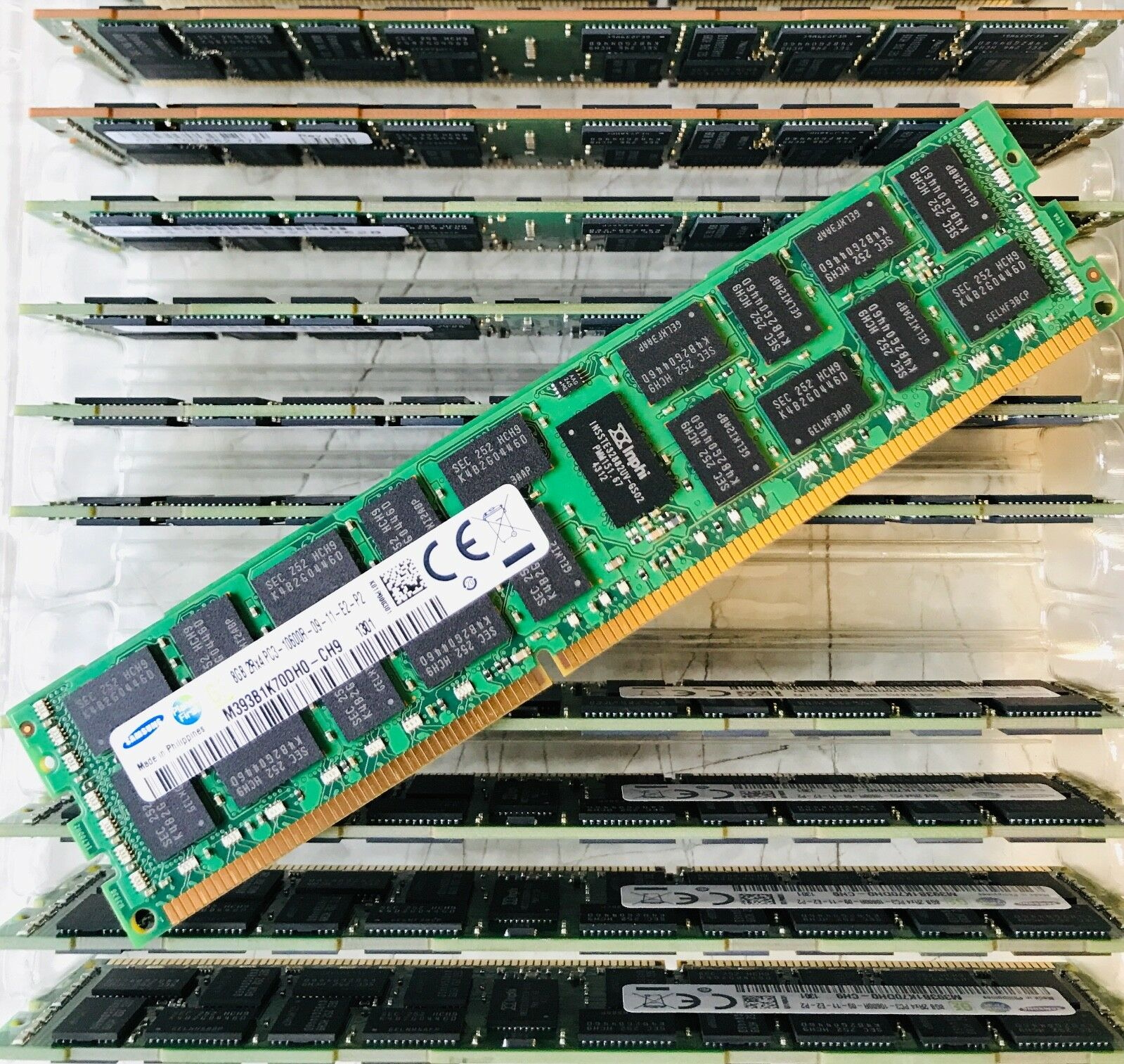 18x8GB DDR3 PC3-10600R ECC Reg Server Memory RAM Dell PowerEdge R710 144GB