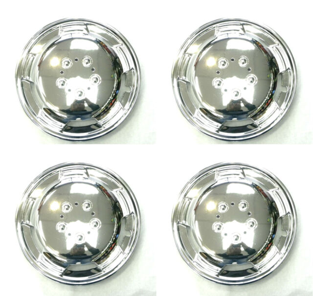 "15"" Chrome Domed Wheel Trims Hub Caps For Peugeot Boxer with R15 Wheels UX104"