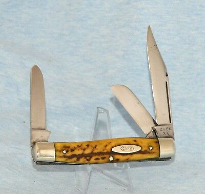 RARE VINTAGE CASE XX STAG STOCKMAN KNIFE 5375 LP 1940-64 BOOK $1500.00 LONG PULL