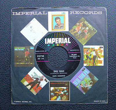 "7"" Fats Domino - Shu Rah - US Imperial"