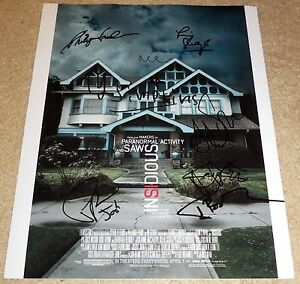 Insidious-Cast-Signed-11x14-By-9-Wilson-Byrne-Simpkins-Whannell-Exact-Proof