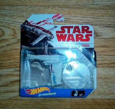 Hot Wheels Starships Star Wars The Last Jedi Resistance Bomber Die Cast
