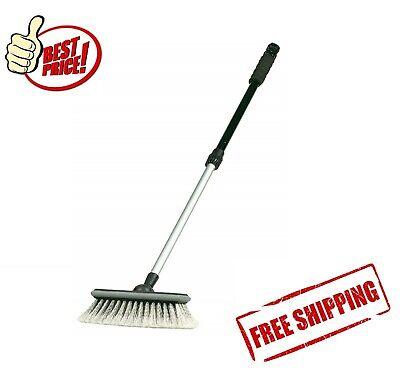 Soft Car Wash Brush Vehicle Cleaning Tool Mop Microfiber Telescoping Handle SUV (Vehicle Wash Brush)