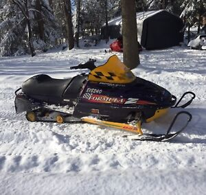 1998 Formula Z 670 , New Track, Mbrp trail can and reverse!