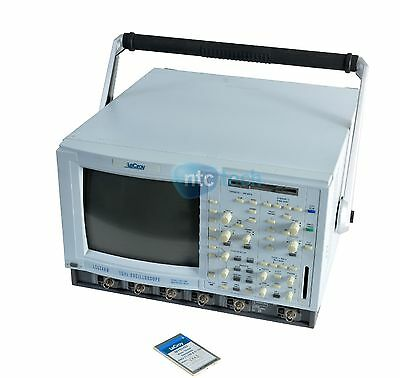 Lecroy Lc534am Digital Oscilloscope 1ghz 2gsas 4 Channel W Opts
