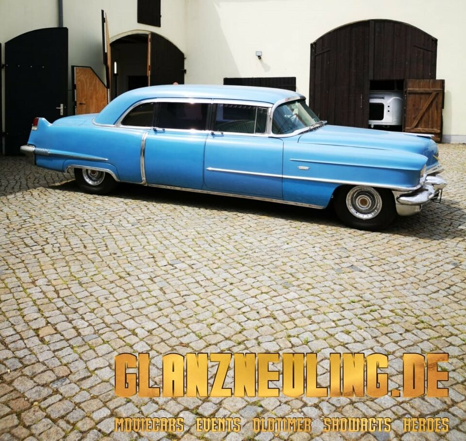 Cadillac Oldtimer Hochzeitsauto Stretch-Limousine mieten Sachsen in Dresden - Neustadt