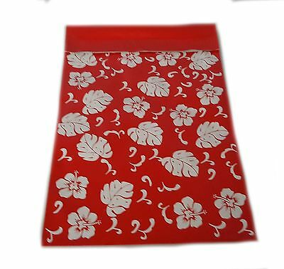 500 6x9 Red Hawaiian Poly Mailer Plastic Bag Envelopes Polybags Polymailer