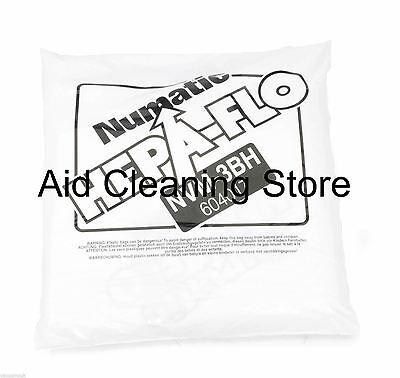 Flo Vac (10-PACK Genuine Numatic Hepa-Flo NVM-3BH 604017 Vacuum Cleaner Vac Bags [G3])