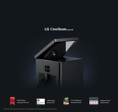 "LG HU80KA 4K UHD Laser Smart Home Theater CineBeam Projector 150"" HDR10 Free UPS"