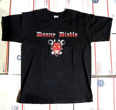DANNY DIABLO BLACK SHIRT MEDIUM CROWN OF THORNZ NYHC/RAP AGNOSTIC FRONT CRO MAGS