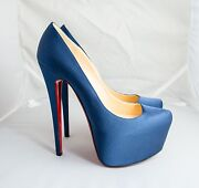 Christian Louboutin Shoes Blue