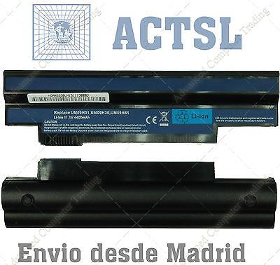 Bateria para Portatil Acer Aspire One 532h-2676 532h-2727 10,8v 4400mAh BT33