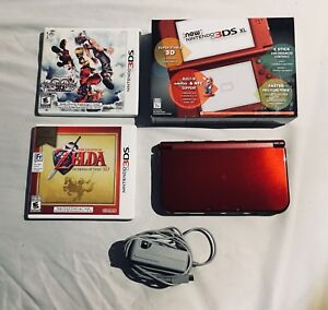 New Nintendo 3DS XL (Red)