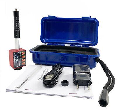 Leeb Hardness Tester Meter Pen Type Durometer Metal Steel Oled Color Display