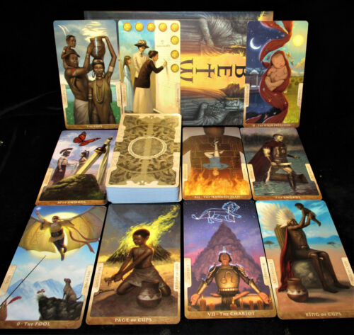 SEALED NEW ~ IN BETWEEN TAROT CARDS & BOOK ORACLE WHAT HAPPENS BETWEEN THE CARDS