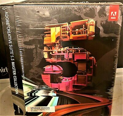 Adobe Creative Suite 5.5 Complete Collection Photoshop Illustrator InDesign AE
