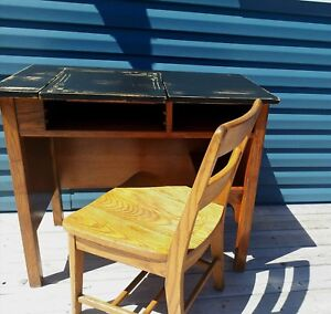 Antique desk and chair!