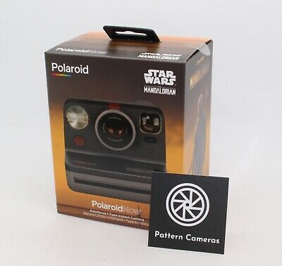 Polaroid Now i-Type Instant Camera - Star Wars - The Mandalorian™ Edition - BNIB