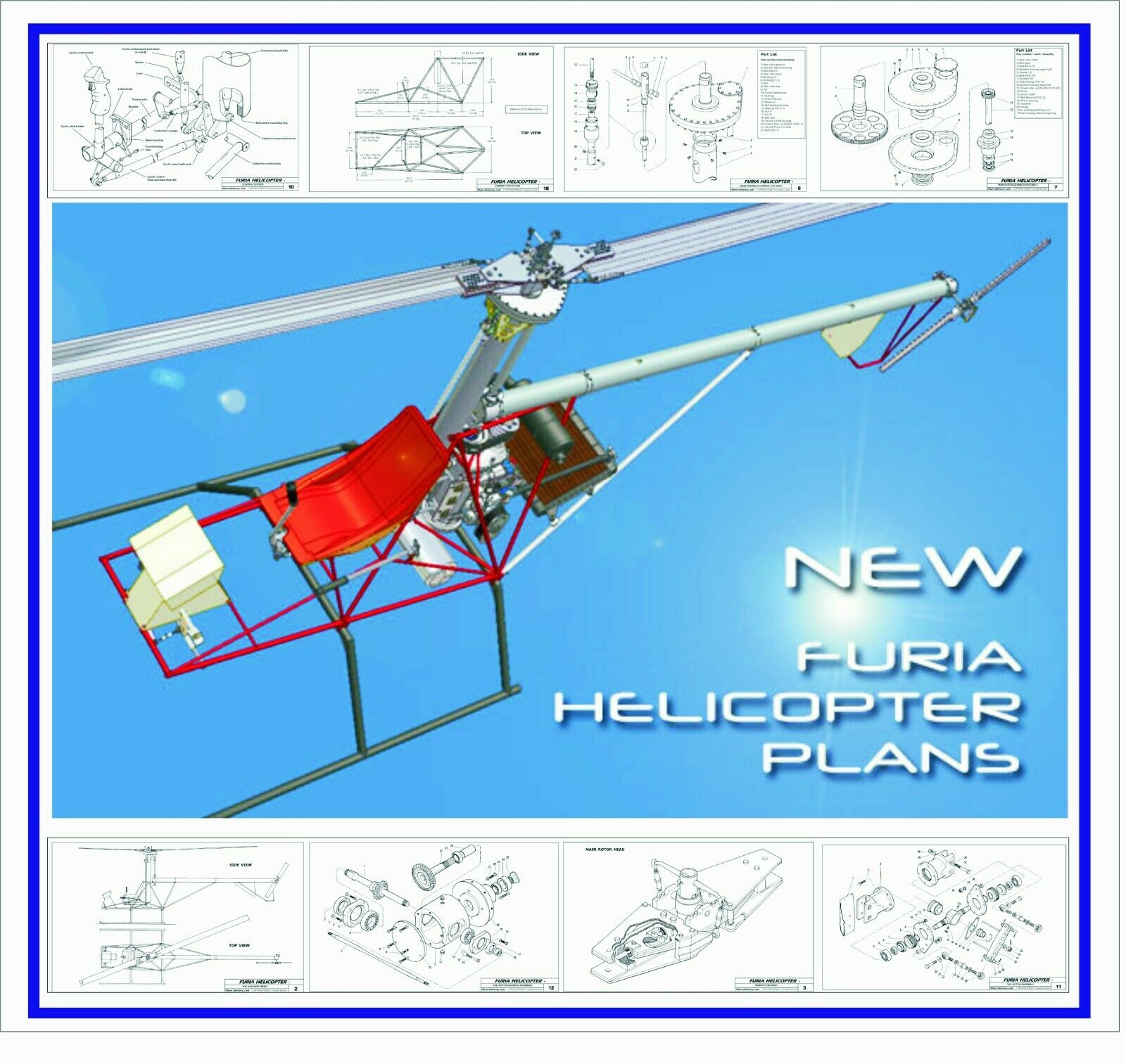 Helicopter Furia. plane
