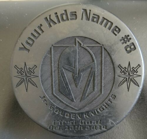 Custom Engraved Pucks