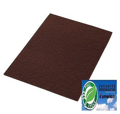 Clarke Boost 997018 Maroon Ecoprep Floor Pads 14x28 Box Of 10 - Aftermarket