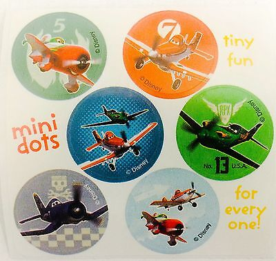 60 Disney Planes Stickers Party Favors FREE SHIP Dusty Skipper Transportation - Dusty Party Supplies