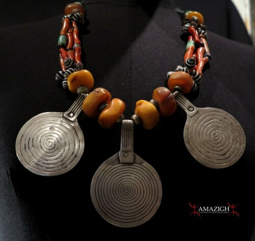 Old Fine Berber Necklace - South Morocco