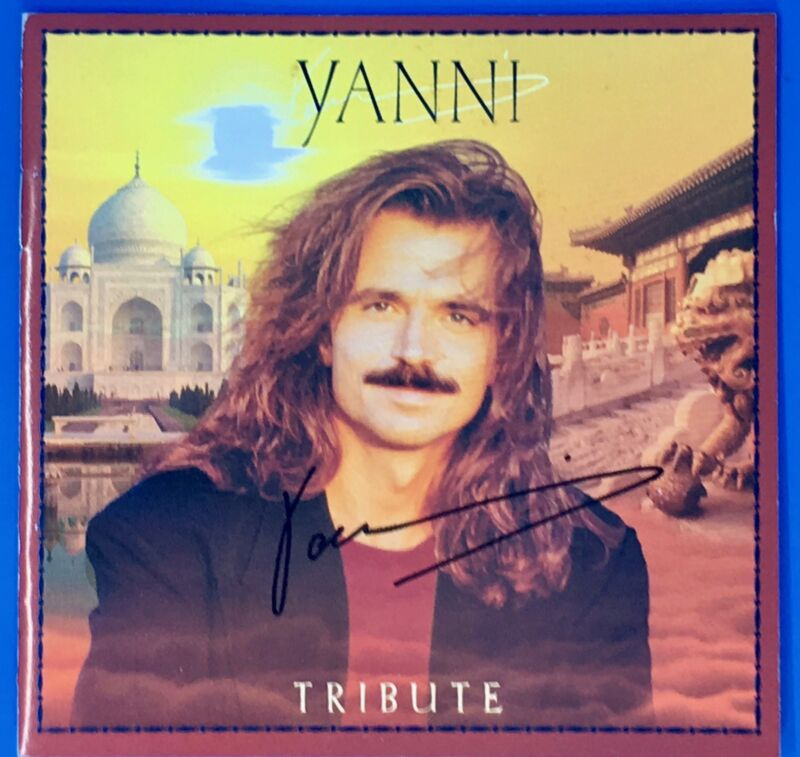 Yanni Tribute Album 1997 - CD Electronically Signed by Yanni