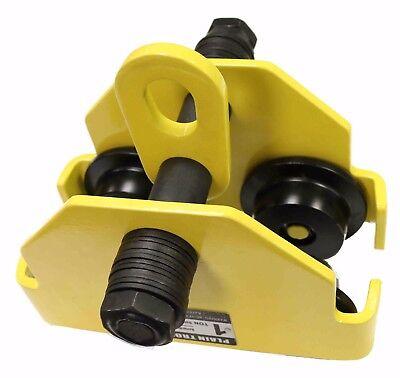 V-lift Industrial 2 Ton Push Beam Trolley 4407 Lbs Wll