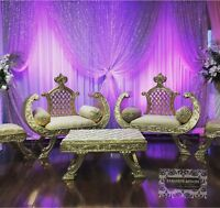 Event Furniture For Rent Delivery+Pickup+Setup Included