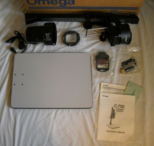 Omega Enlarger C-700 New In Box, Never Used