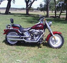 LOOK @ ME!! DEFINATELY WORTH A LOOK!! HARLEY DAVIDSON FATBOY!! Goulburn 2580 Goulburn City Preview