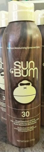 Sun Bum Continuous Spray Sunscreen SPF 30 - 6oz sealed exp 8