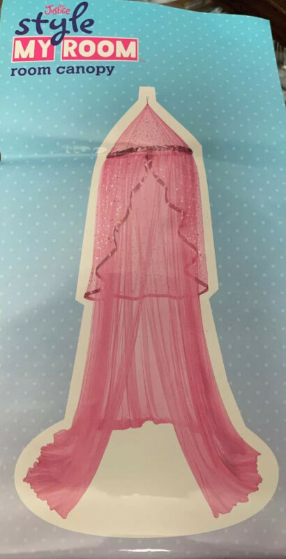 Justice Style My Room Bed Canopy Pink